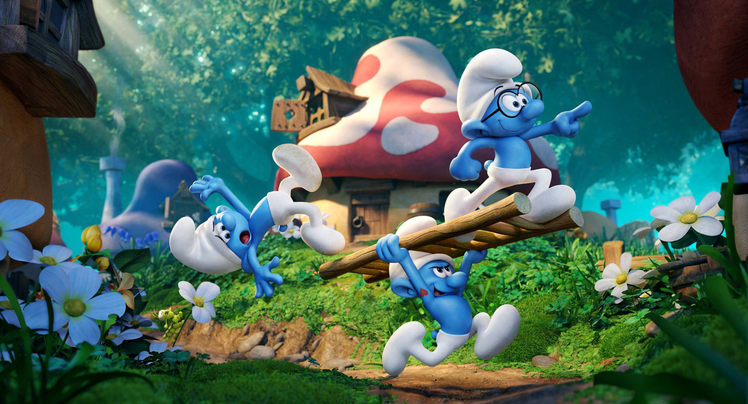 SmurfsLostVillage1