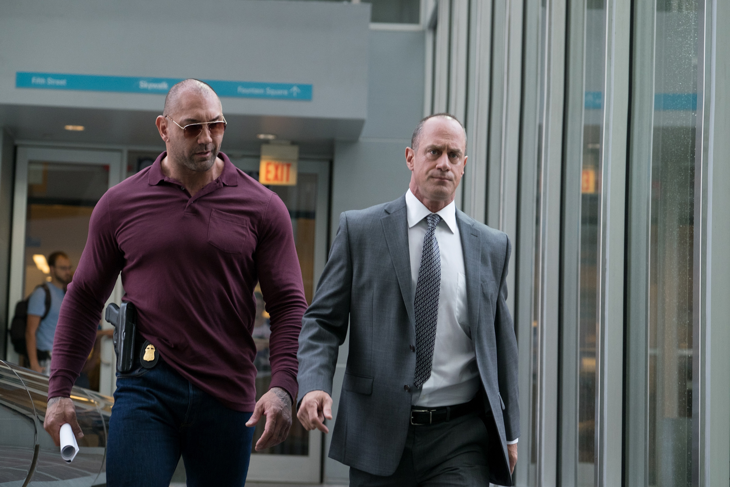 Christopher Meloni, Dave Bautista