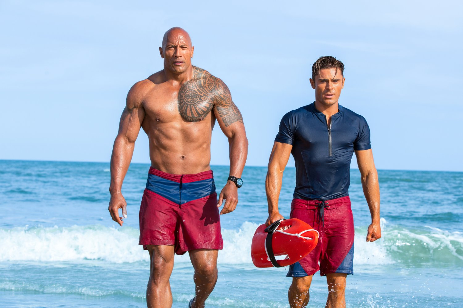 Dwayne 'The Rock' Johnson, Zac Efron