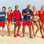 Alexandra Daddario, Zac Efron, Dwayne 'The Rock' Johnson, Kelly Rohrbach