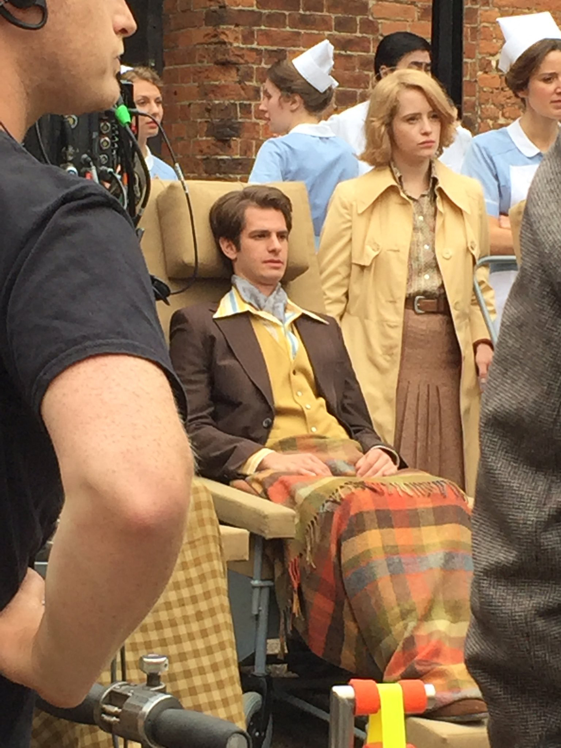Andrew Garfield, Claire Foy