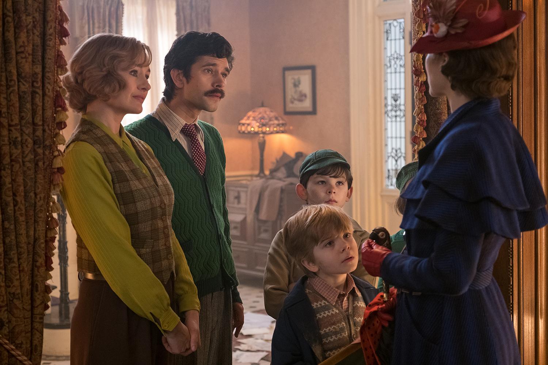 Emily Mortimer, Ben Whishaw, Emily Blunt
