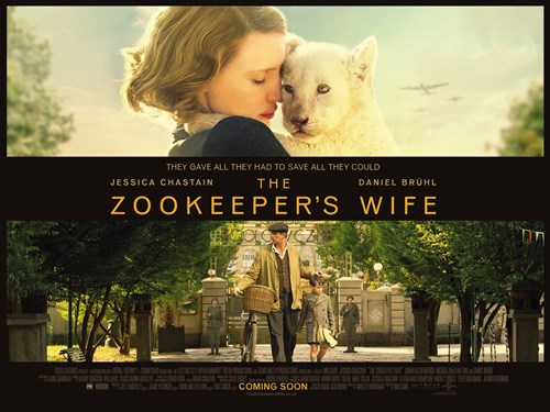 book review the zookeeper s wife Caged by its noble intentions: 'the zookeeper's wife' this historical drama, based on the story of a warsaw couple who helped hundreds of jews flee nazi-occupied poland, is more interested.