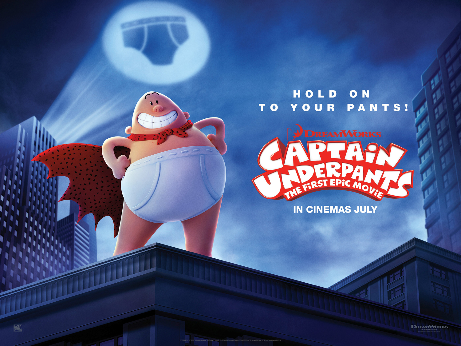 Captain Underpants The First Epic Movie The Fan Carpet