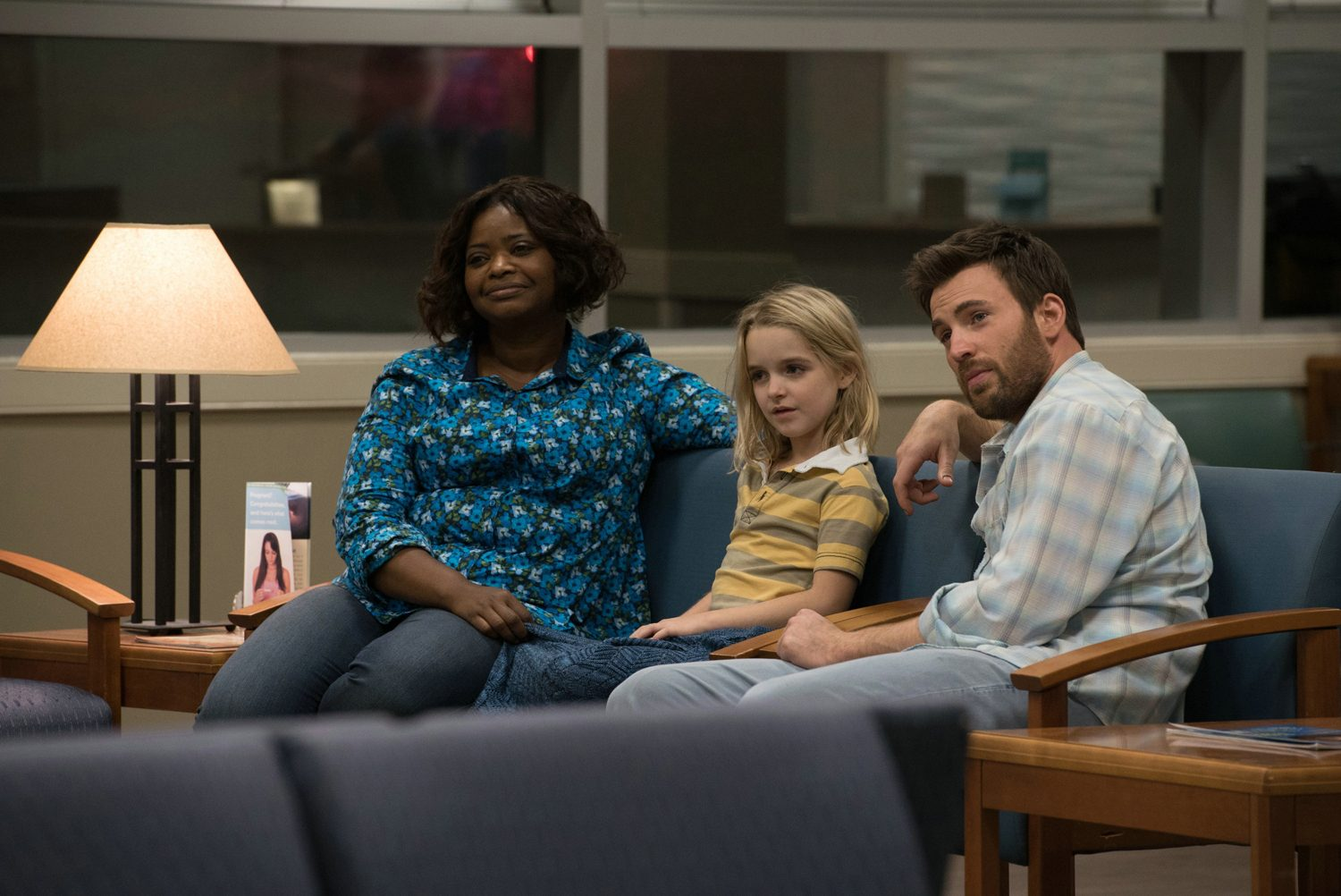 Chris Evans, Octavia Spencer