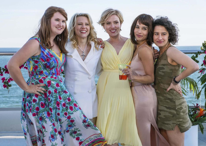 Kate McKinnon, Scarlett Johansson, Zoë Kravitz