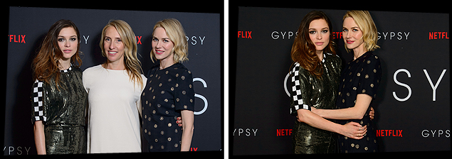 Sophie Cookson Personal: Sam Taylor Johnson, Naomi Watts & Sophie Cookson Attend