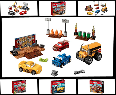 Lightning Mcqueen Strikes Again With Seven New Lego Juniors Sets