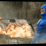 Peter Serafinowicz, Valorie Curry, Griffin Newman, Ben Edlund attend Special Q+A for THE TICK