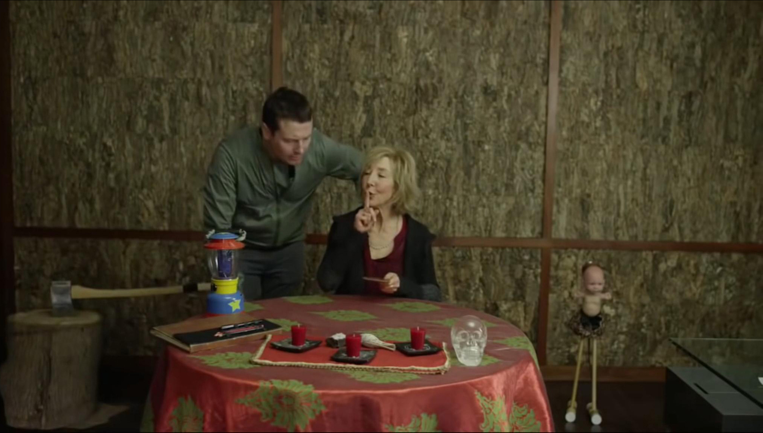 Lin Shaye, Leigh Whannell