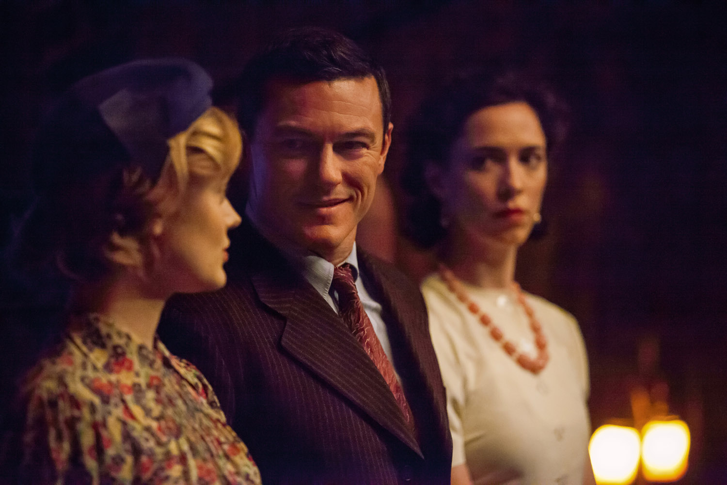 Rebecca Hall, Luke Evans, Bella Heathcote