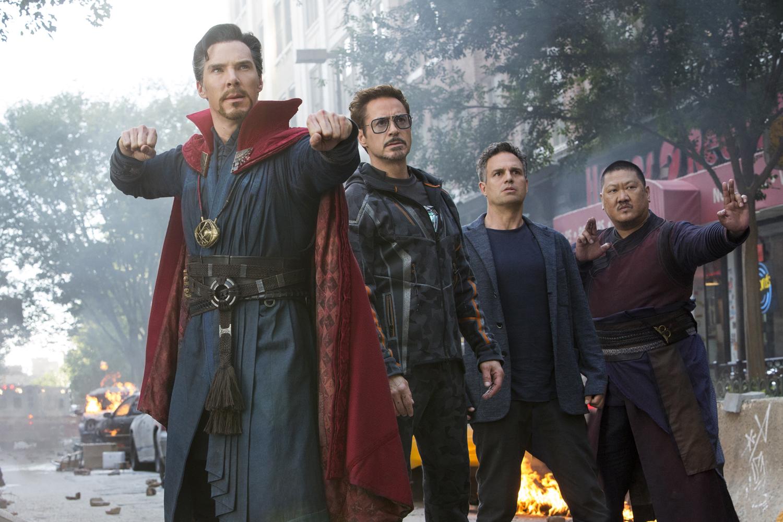 Benedict Cumberbatch, Robert Downey Jr., Mark Ruffalo