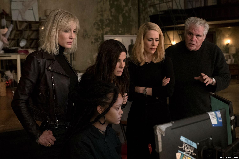Sandra Bullock, Cate Blanchett, Sarah Paulson