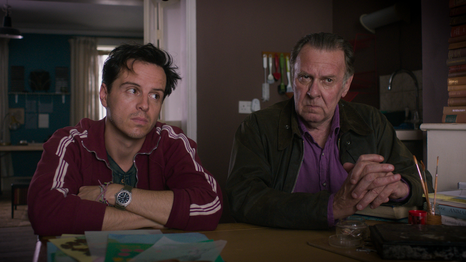 Andrew Scott, Tom Wilkinson