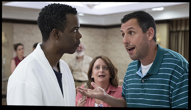 Netflix's New The Week Of Trailer Pits Adam Sandler Against Chris Rock