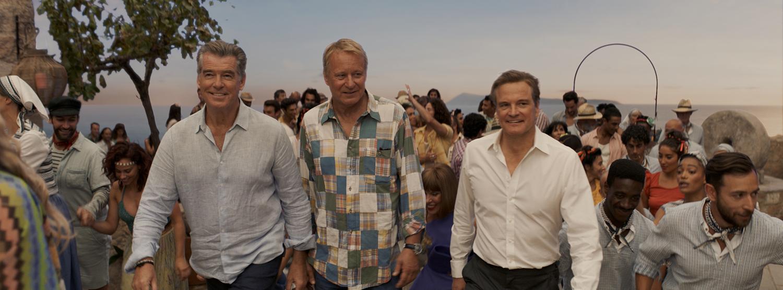 Pierce Brosnan, Stellan Skarsgård, Colin Firth