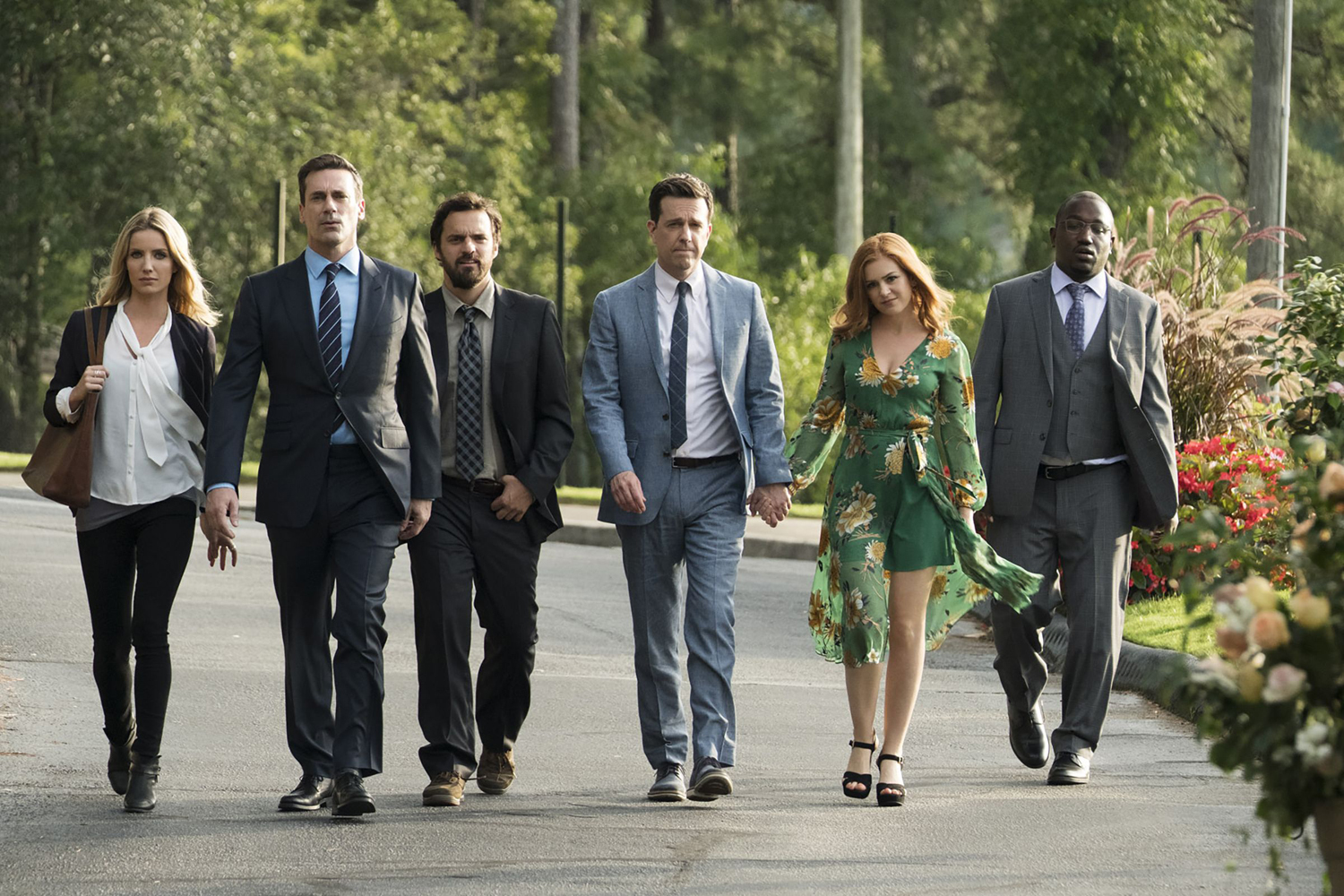 Isla Fisher, Jon Hamm, Ed Helms, Annabelle Wallis, Jake Johnson