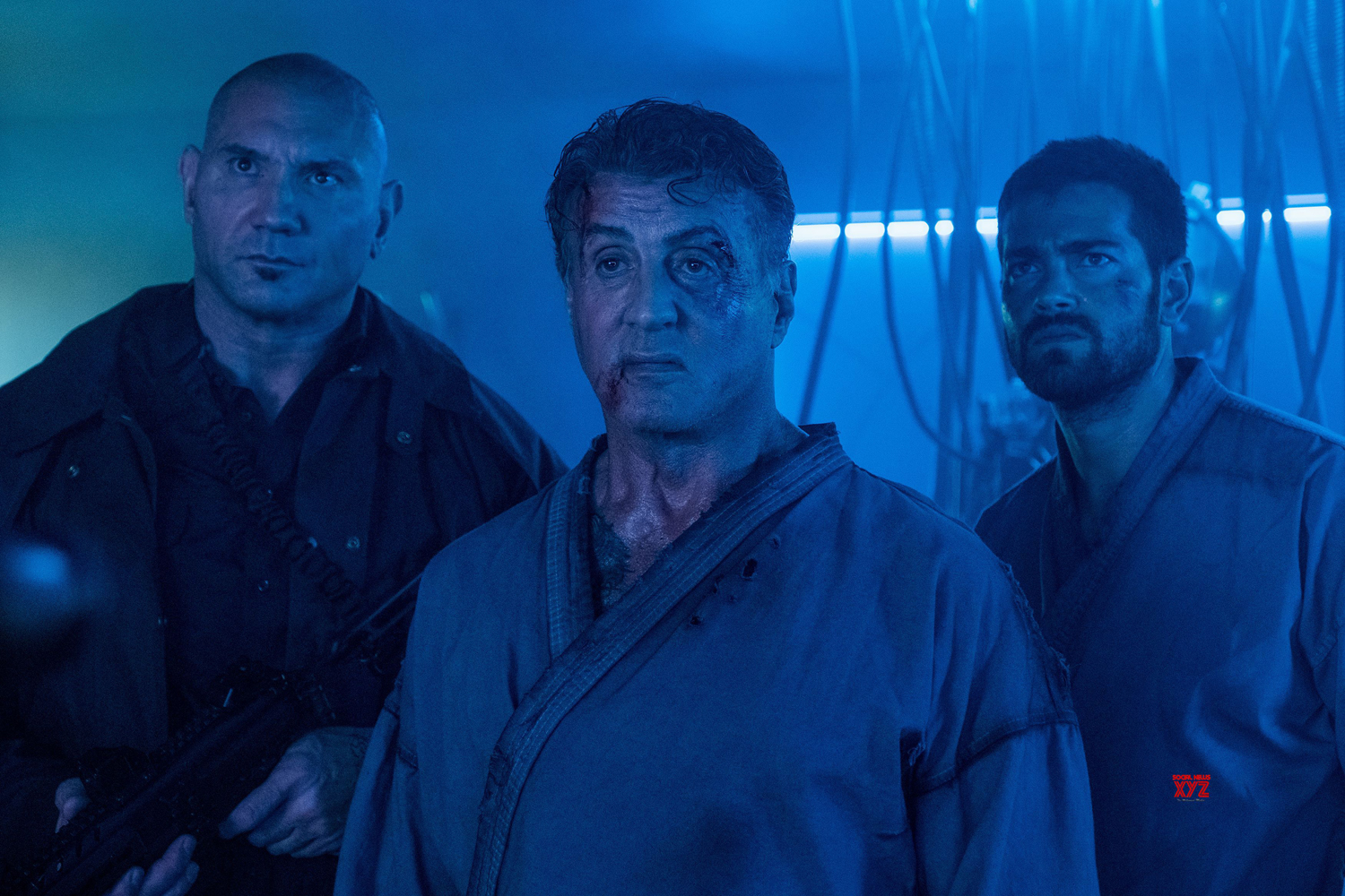 Sylvester Stallone, Dave Bautista, Jesse Metcalfe