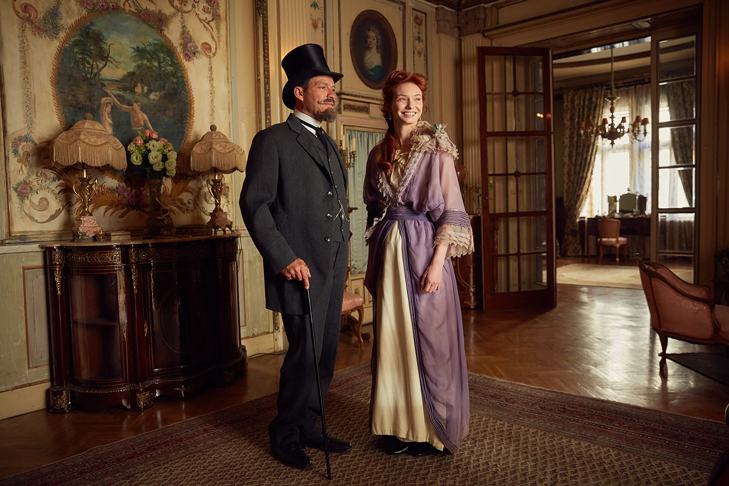 Dominic West, Eleanor Tomlinson