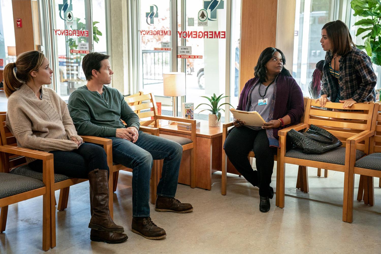 Mark Wahlberg, Rose Byrne, Octavia Spencer