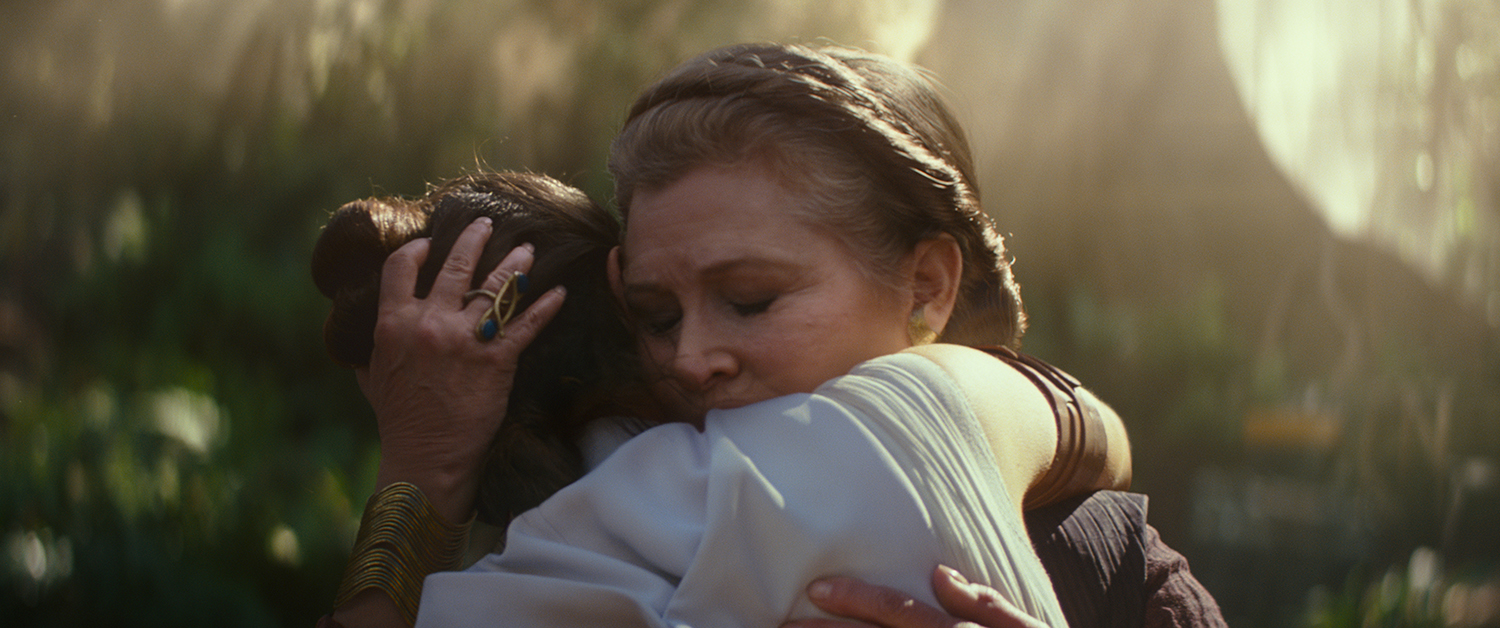 Carrie Fisher, Daisy Ridley