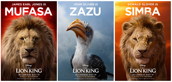 Lion King 2019 Movie Posters: EVERYTHING THE LIGHT TOUCHES IS OUR KINGDOM: Disney Unveil