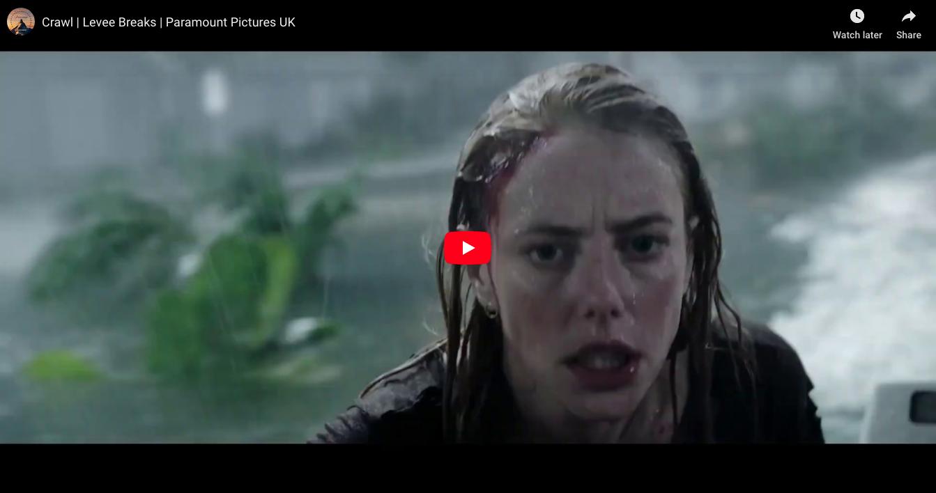 Clip Alert: 'Levee Breaks' Crawl | Paramount Pictures